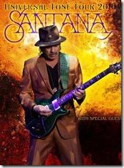 Tourplakat von Santana