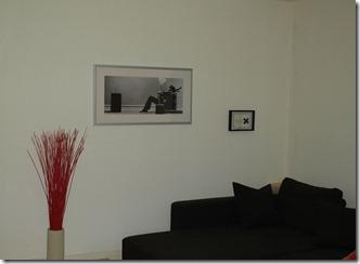Das Bild an der Wohnzimmerwand