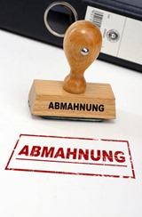 Abmahung © N-Media-Images / Fotolia