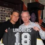 Ich mit Chris Lindberg