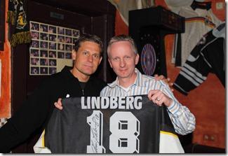 Chris Lindberg und ich